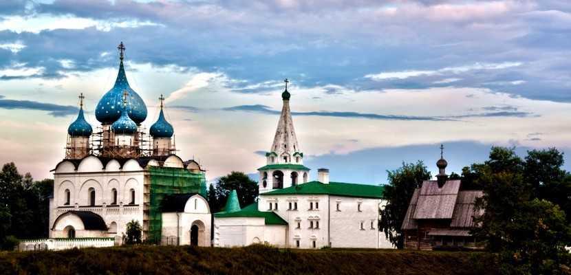 Достопримечательности Суздаля: Суздальский кремль